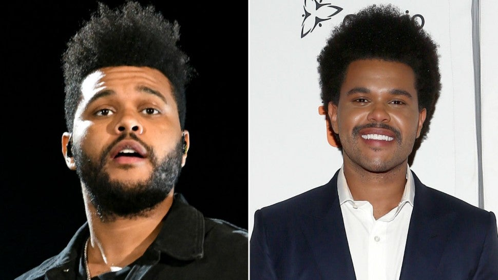 The Weeknd is unrecognisable at Toronto premiere of Uncut Gems