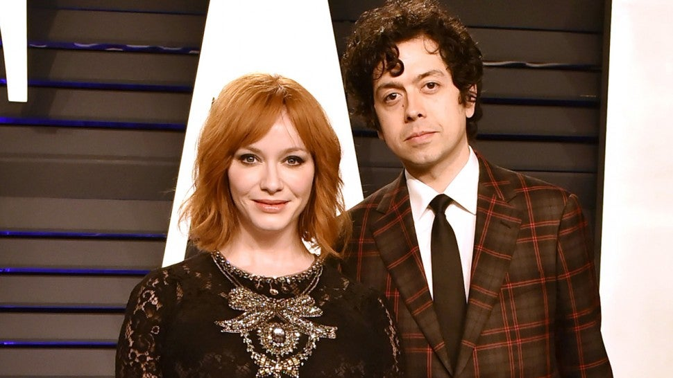 Christina Hendricks And Husband Geoffrey Arend Announce Split After 10 Years Of Marriage Entertainment Tonight