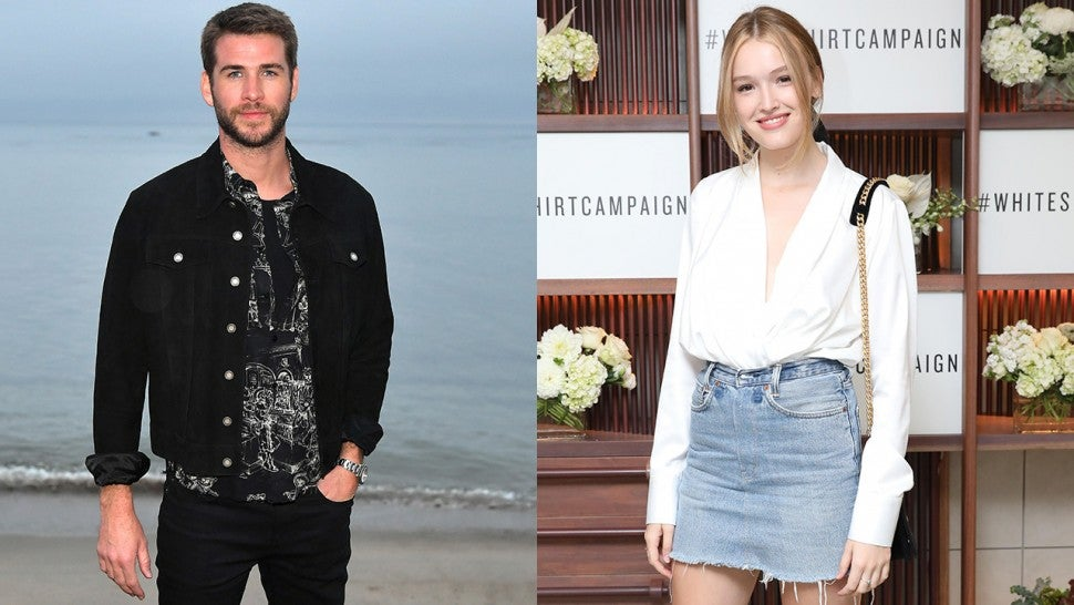 Liam Hemsworth spotted kissing Aussie actress after split from Miley Cyrus