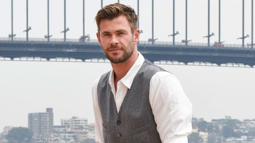 chris hemsworth in sydney