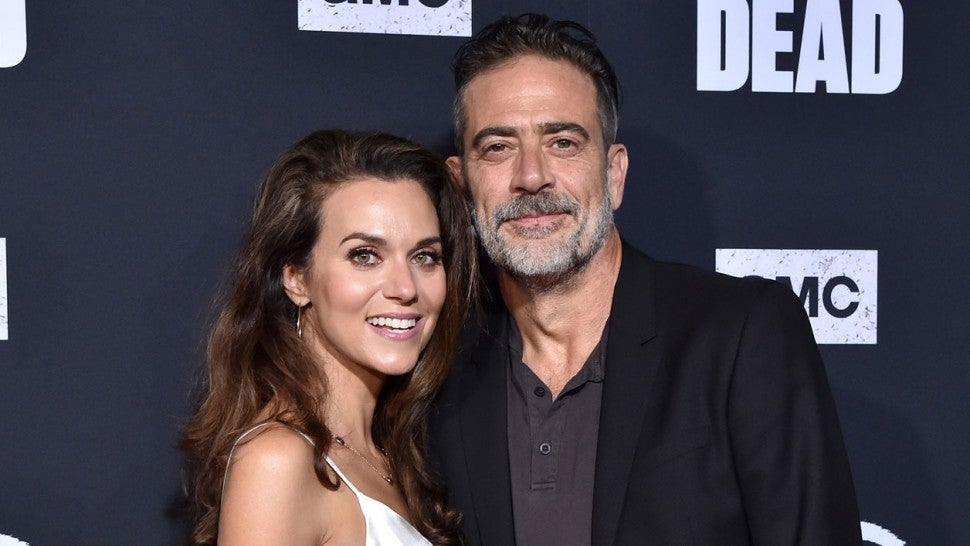"Hilarie Burton and Jeffrey Dean Morgan at the Special Screening of AMC's ""The Walking Dead"" Season 10"