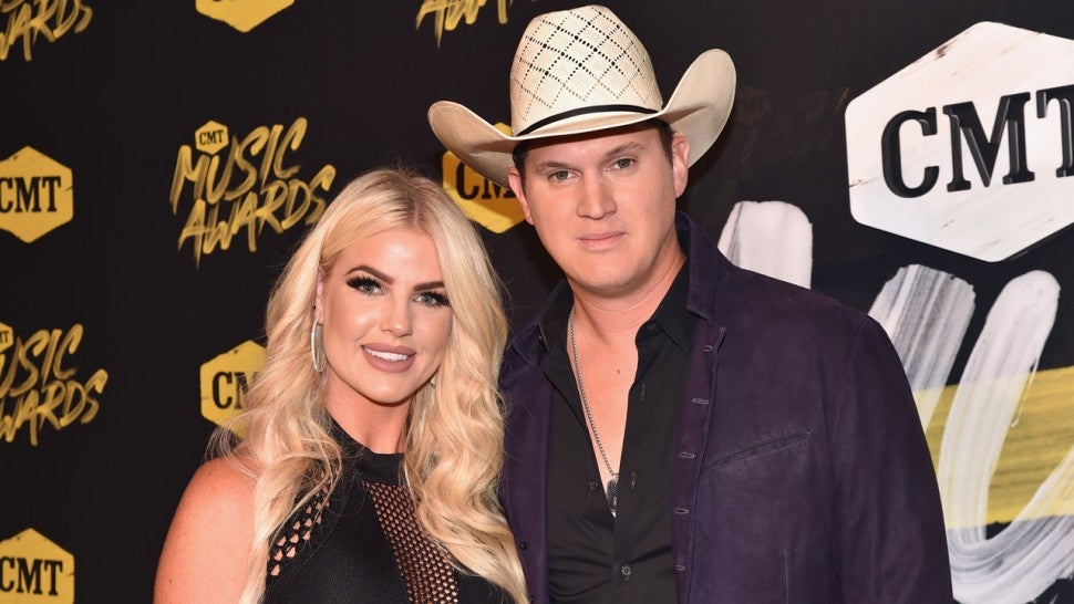 Summer Duncan and Jon Pardi at the 2018 CMT Music Awards