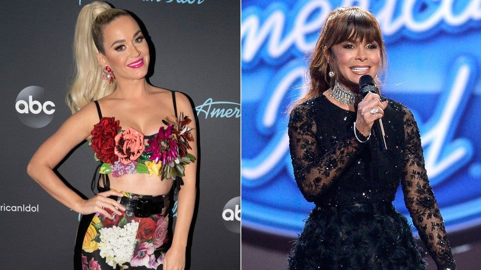 Katy Perry Paula Abdul