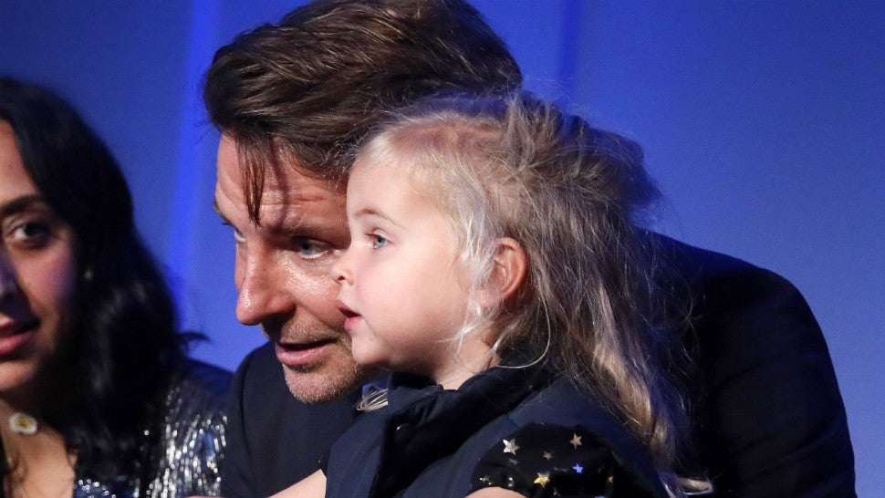 Bradley Cooper's 2-year-old daughter makes rare appearance with dad at event