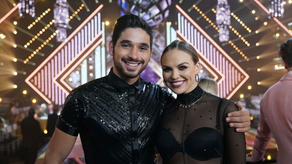 Alan Bersten and Hannah Brown on DWTS