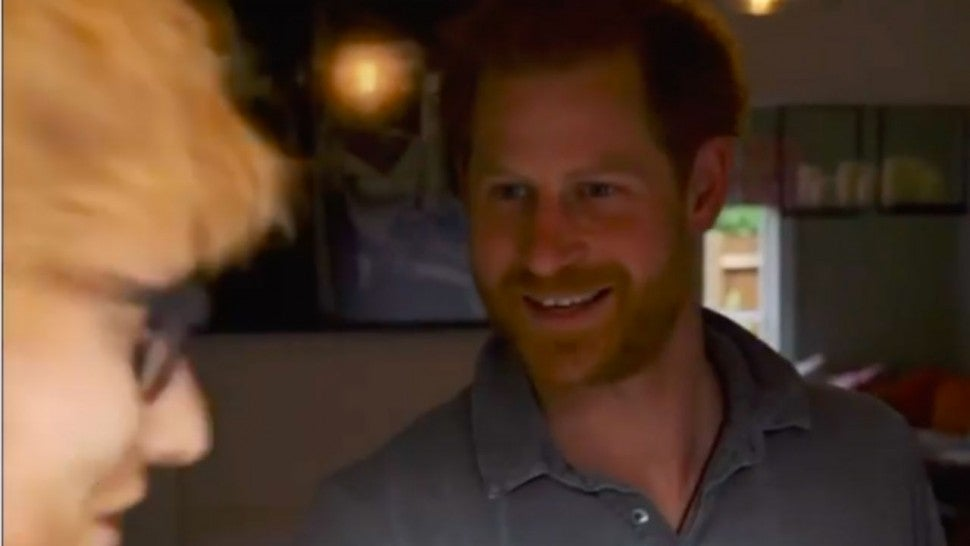 Prince Harry & Ed Sheeran Tease Joint Project For World Mental Health Day