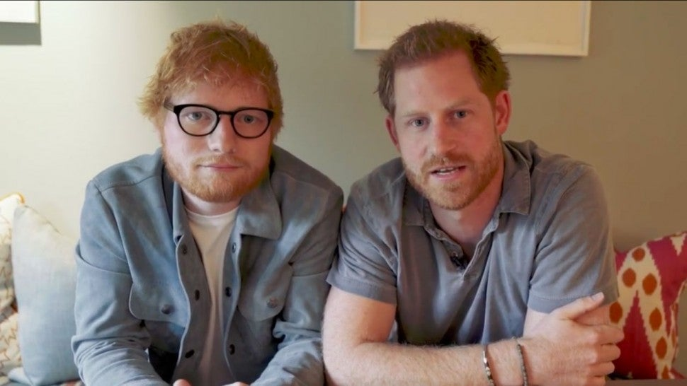 Prince Harry and Ed Sheeran team up on World Mental Health Day