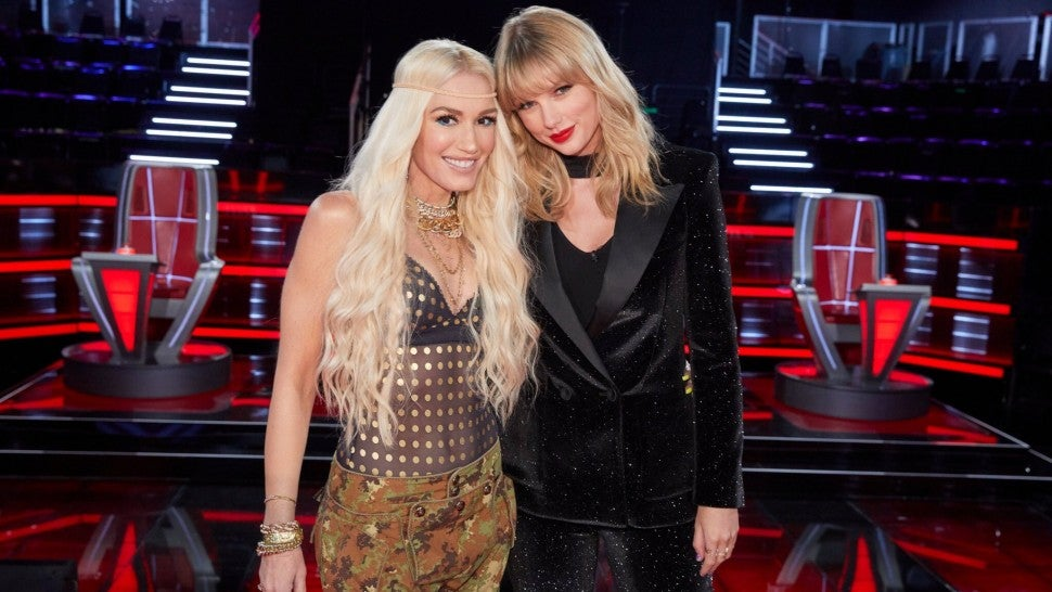 gwen stefani taylor swift the voice