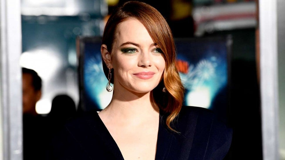 Emma Stone at 'Zombieland: Double Tap' premiere on Oct. 10