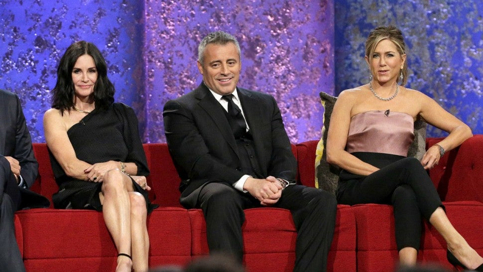 FRIENDS: The One Where Joey, Rachel and Monica Reunite