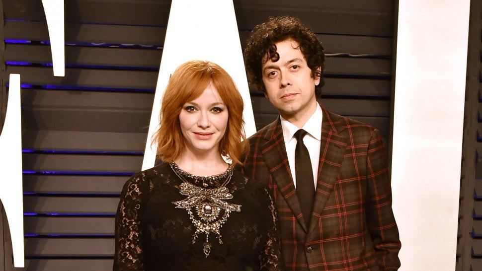 Christina Hendricks and husband Geoffrey Arend announce split