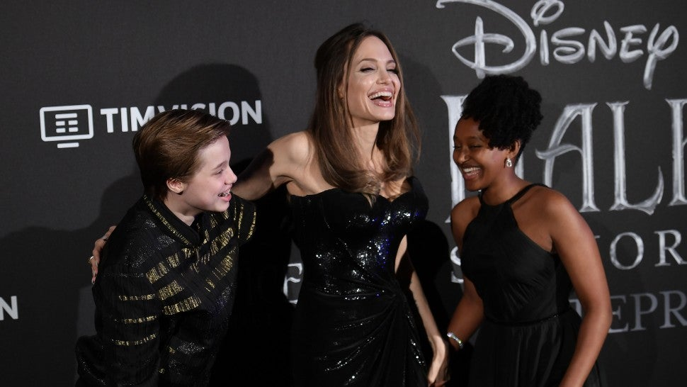 Image result for images of Angelina Jolie and her teen daughter