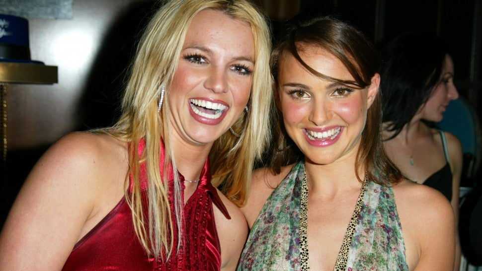 Britney Spears and Natalie Portman