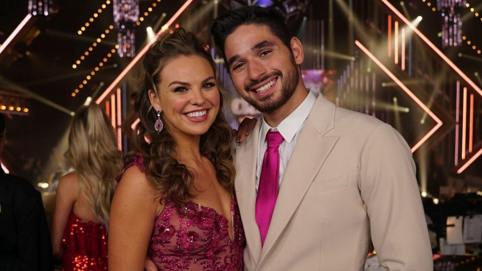 Alan Bersten and Hannah Brown at DWTS