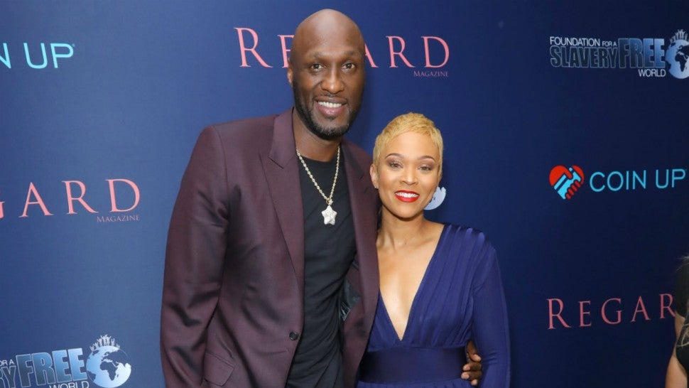 Lamar Odom and Sabrina Parr