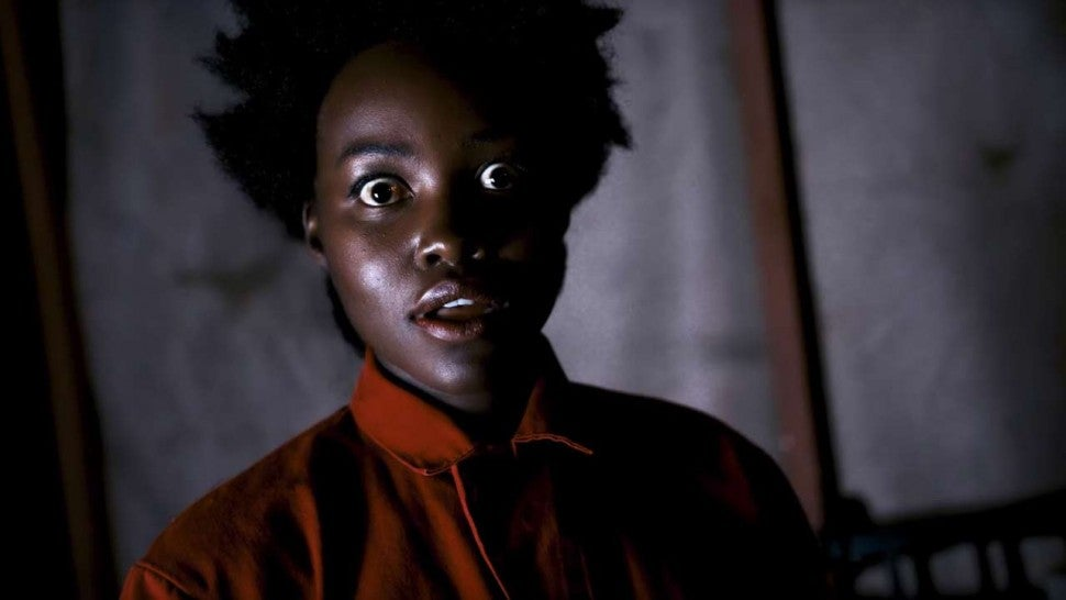 Lupita Nyong O Reprises Her Us Character Red To Terrify Fans At Halloween Horror Nights Entertainment Tonight