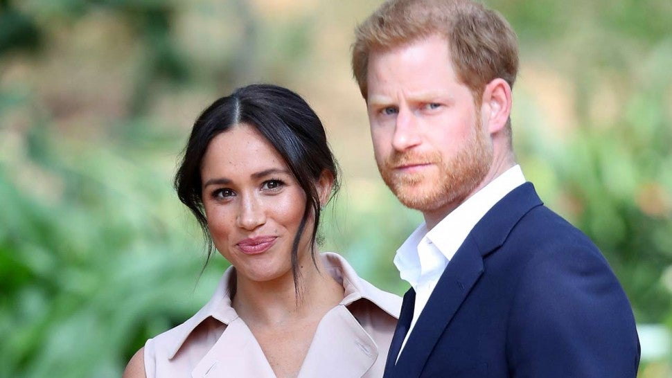 Prince Harry and Meghan Markle removed from Royal Foundation website