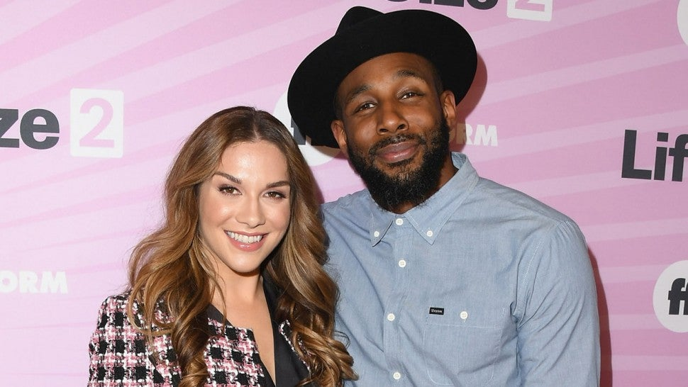 "Allison Holker and Stephen ""tWitch"" Boss at ""Life Size 2"" World Premiere in 2018"
