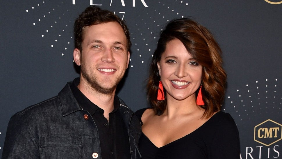 Phillip Phillips and Hannah Blackwell at the 2017 CMT Artists Of The Year