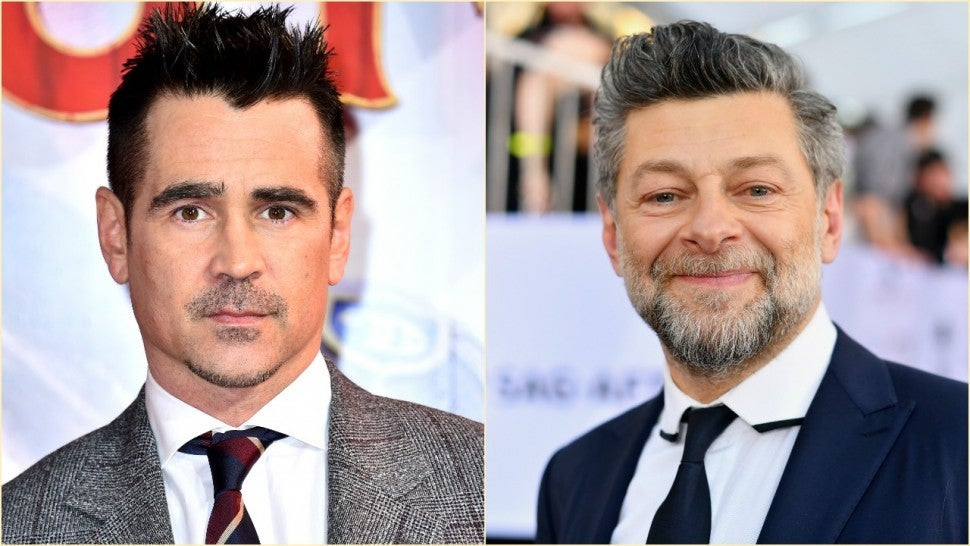 Colin Farrell, Andy Serkis