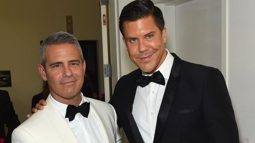 Andy Cohen and Fredrik Eklund
