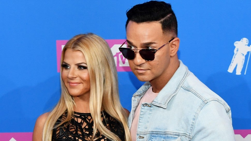 mike sorrentino and wife