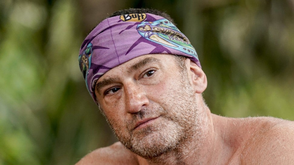 Dan Spilo on the fourth episode of SURVIVOR: Island of Idols airing Wednesday, Oct. 16th
