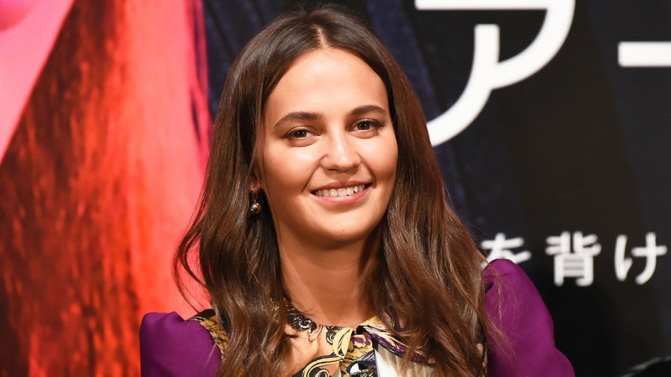 alicia vikander in october 2019