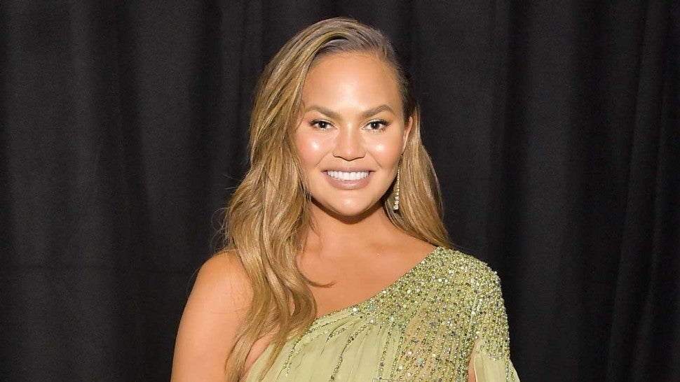 Chrissy Teigen in november 2019