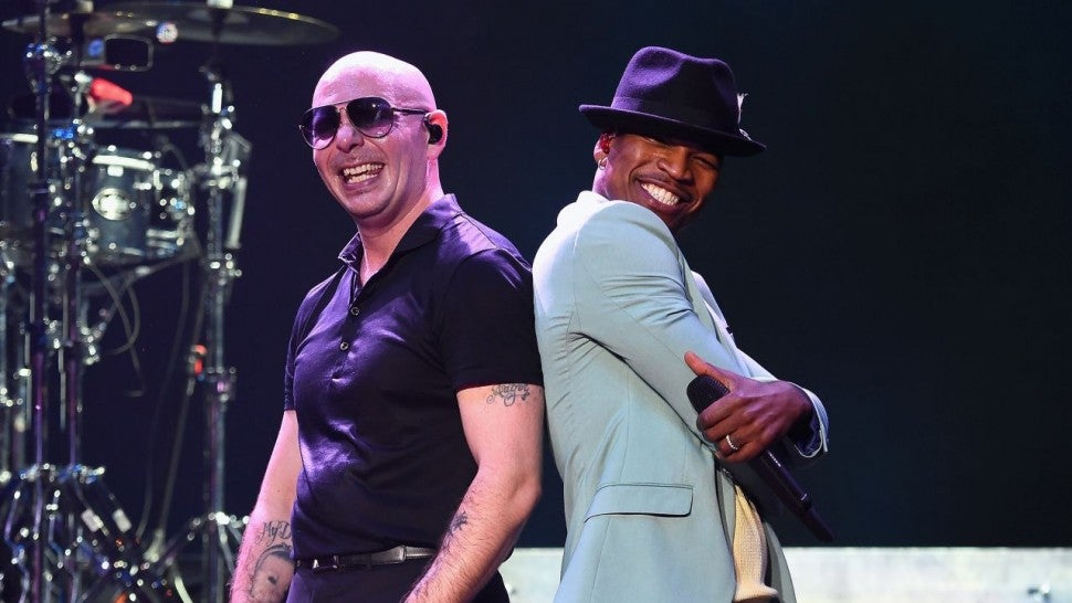 Ne-Yo and Pitbull