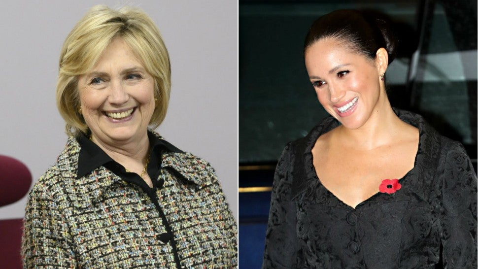 Hillary Clinton visits Meghan Markle and Archie at home in Windsor