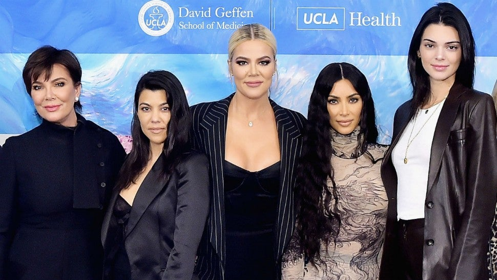 Kris Jenner and daughters
