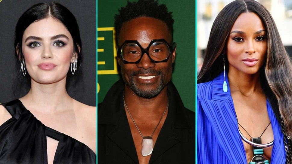 Lucy Hale, Billy Porter and Ciara