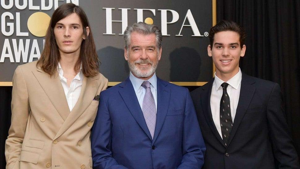 Pierce Brosnan's Sons Named Golden Globes Ambassadors 2020