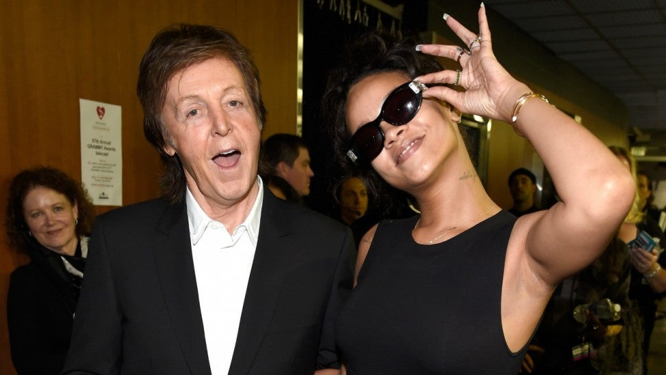 Paul McCartney Rihanna