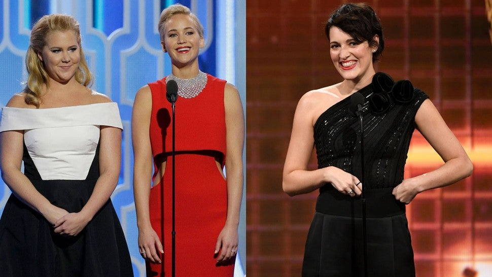 Amy Schumer, Jennifer Lawrence, and Phoebe Waller-Bridge