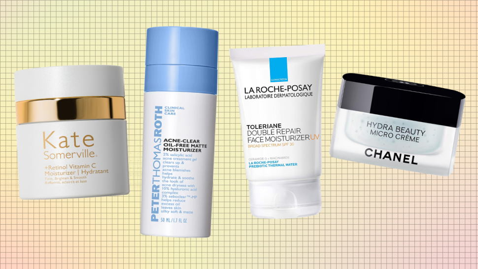Best Face Moisturizers From Drunk Elephant, La Mer, Glossier, Obagi, Dermalogica, La Roche-Posay and More.jpg