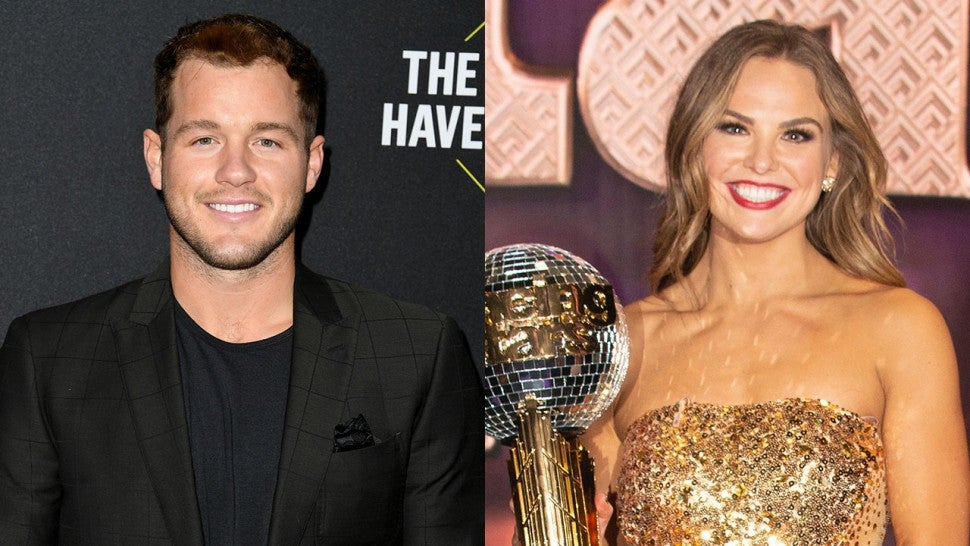 Colton Underwood and Hannah Brown