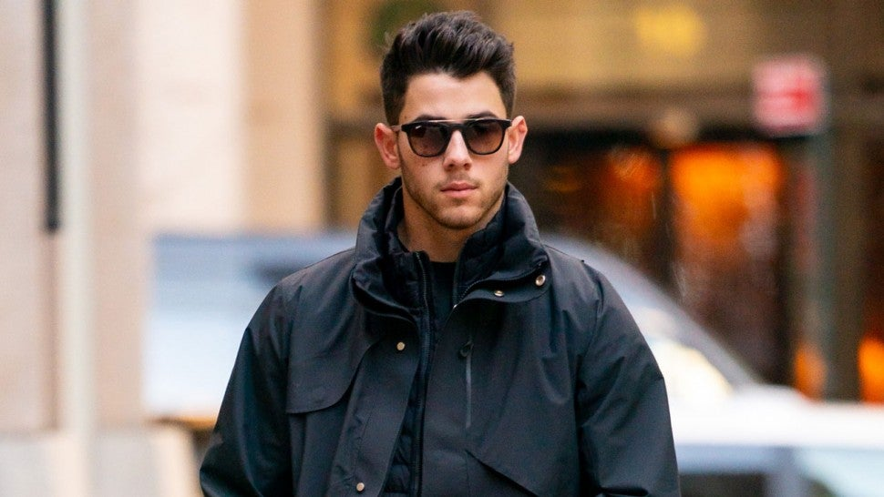 nick jonas in nyc on nov 30