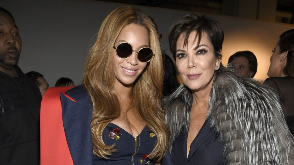 Beyonce and Kris Jenner