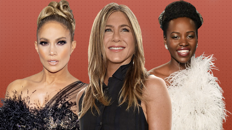 celebrity awards season beauty treatments 1280 Jennifer Lopez Jennifer Aniston Lupita Nyong'o