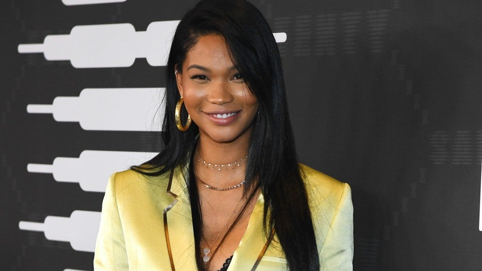 Chanel Iman Shares Dreamy Pics From Baby Shower: Find Out What She's Having    Entertainment Tonight