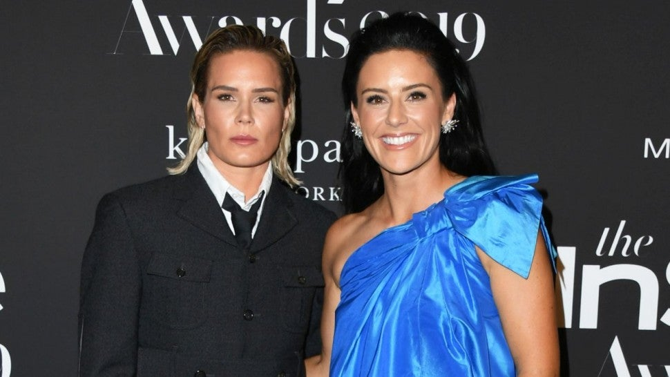 Soccer Stars Ali Krieger And Ashlyn Harris Are Married