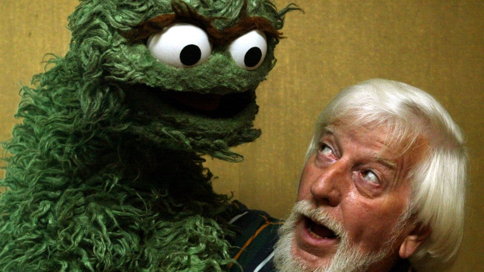 Caroll Spinney Sesame Street Puppeteer Behind Big Bird