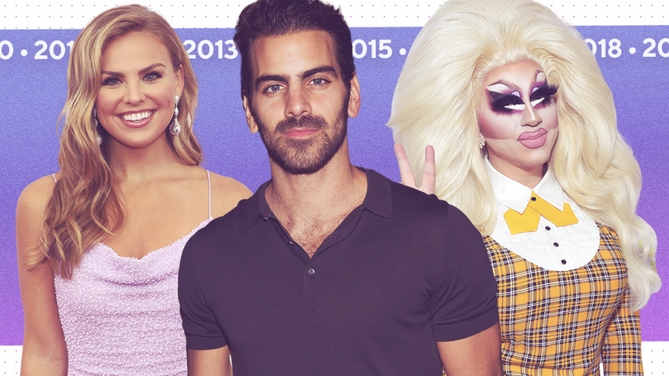 Hannah Brown, Nyle DiMarco and Trixie Mattel