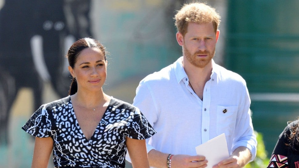 meghan markle and prince harry announce first public engagement of 2020 entertainment tonight meghan markle and prince harry announce