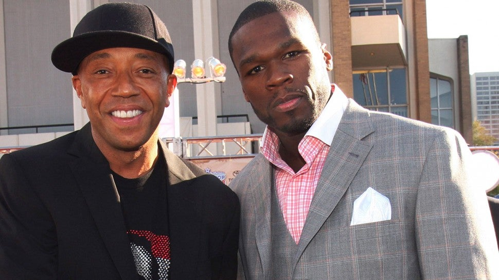 Russell Simmons and 50 Cent
