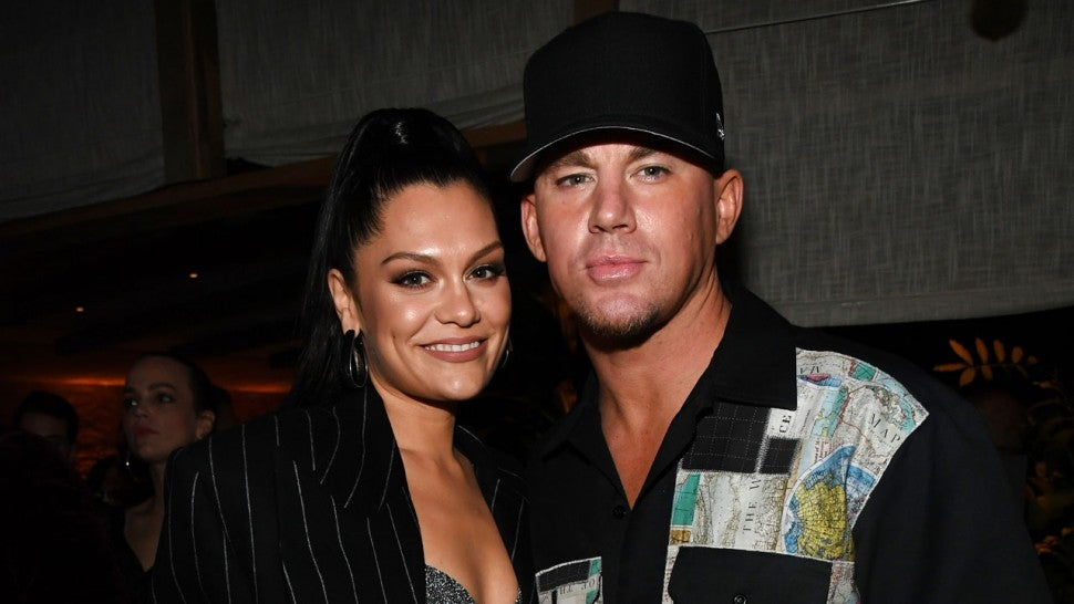 jessie j and channing tatum after grammys