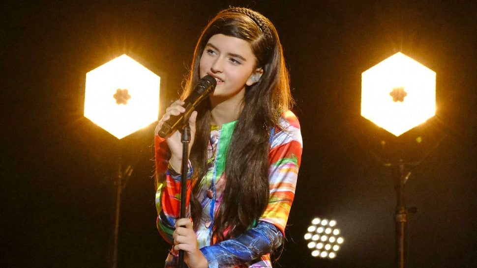 Angelina Jordan on 'America's Got Talent: The Champions'