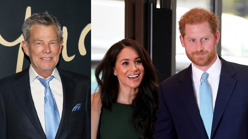 David Foster Meghan Markle Prince Harry